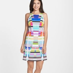 Trina Turk Loma Stretch A-Line Dress